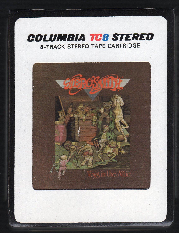Aerosmith - Toys In The Attic 1975 CBS A27 8-TRACK TAPE