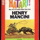 Henry Mancini - Hatari! Motion Picture Score 1962 RCA A44 8-TRACK TAPE