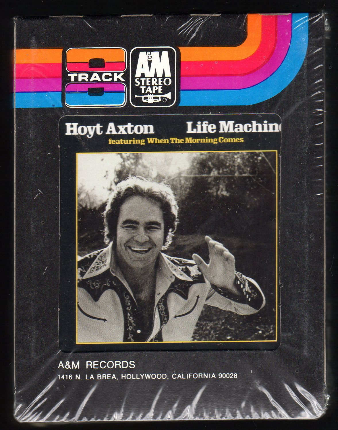 Hoyt Axton - Life Machine 1974 A&M Sealed A24 8-TRACK TAPE