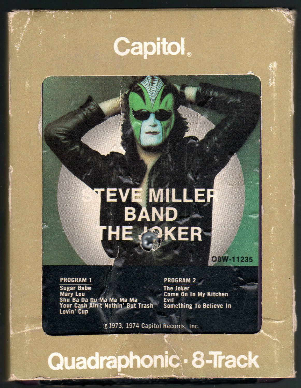 steve miller band the joker 1973 capitol quadraphonic. Black Bedroom Furniture Sets. Home Design Ideas