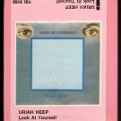 Uriah Heep - Look At Yourself 1971 ISLAND UK Sealed A53 8-TRACK TAPE