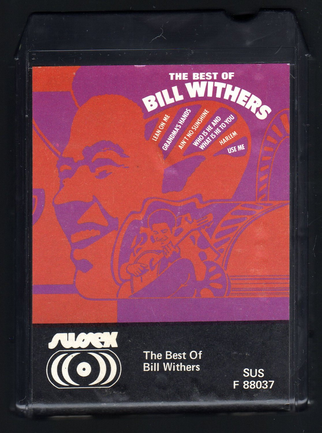 Bill Withers - The Best Of Bill Withers 1975 AMPEX SUSSEX C/O A7 8-TRACK TAPE