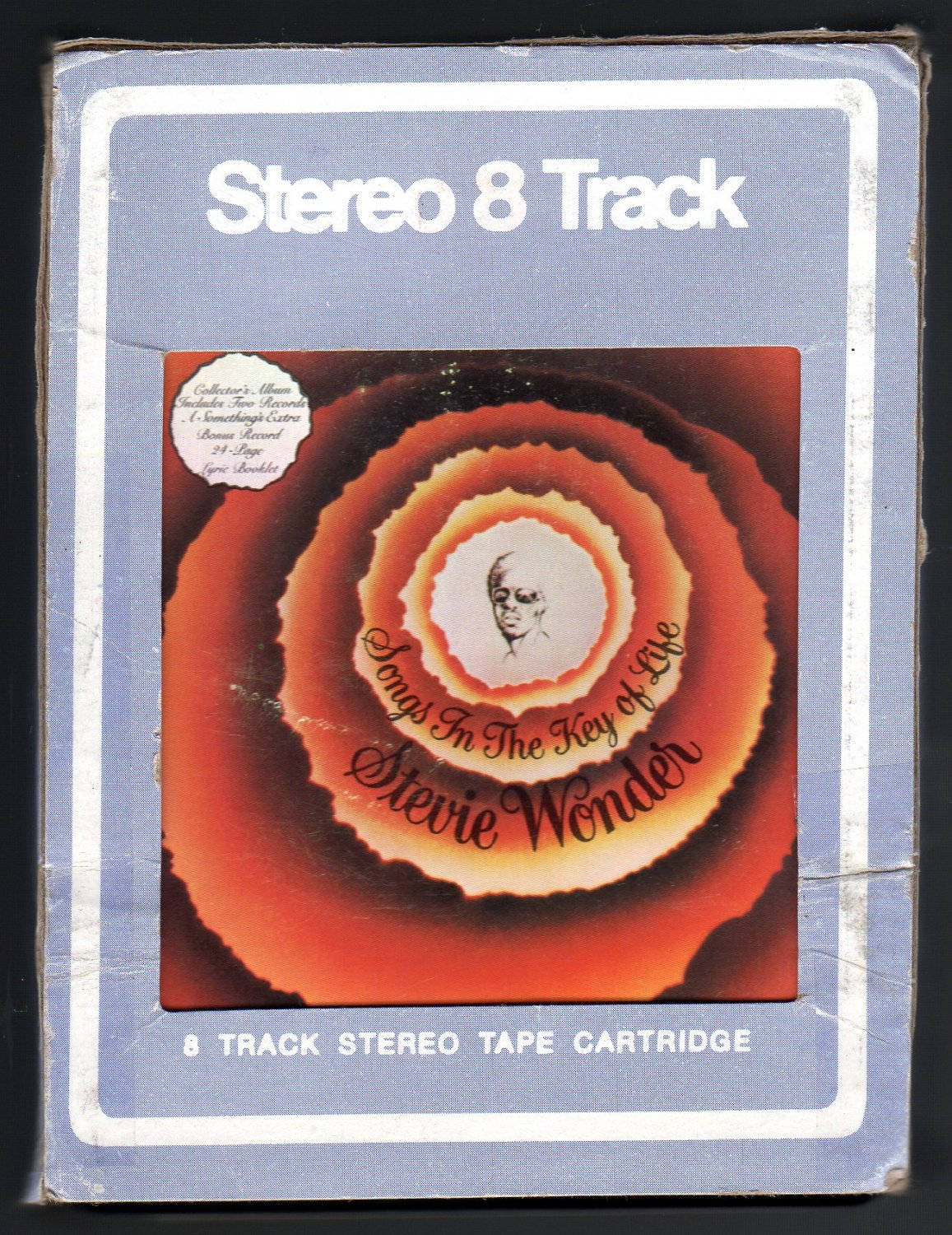 Stevie Wonder - Songs In The Key Of Life Vol I & II 1976 TAMLA MOTOWN A18E 8-TRACK TAPE