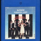 Blondie - Parallel Lines 1978 CHRYSALIS A21B 8-TRACK TAPE