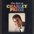 Charley Pride - The Best Of Charley Pride 1969 RCA Sealed A23 8-TRACK TAPE