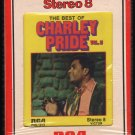 Charley Pride - The Best Of Charley Pride Vol II 1972 RCA T3 8-TRACK TAPE