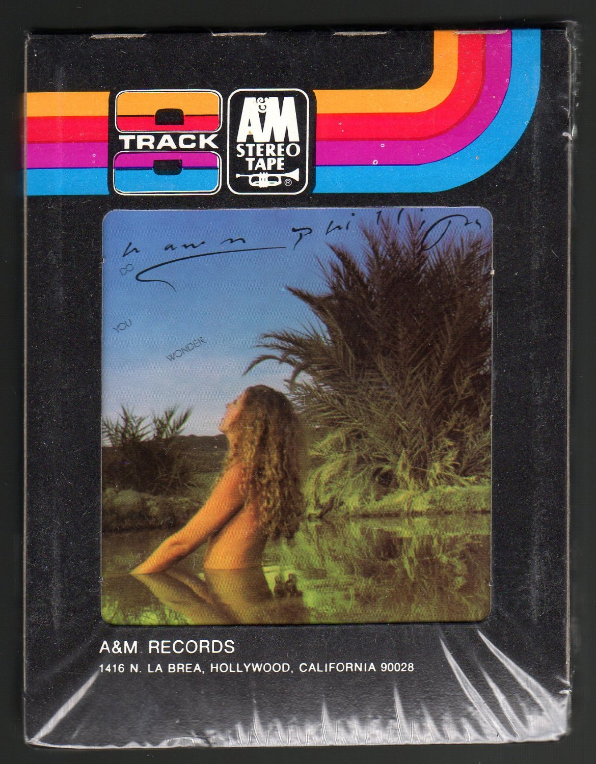 Shawn Phillips - Do You Wonder 1974 A&M Sealed A23 8-TRACK TAPE