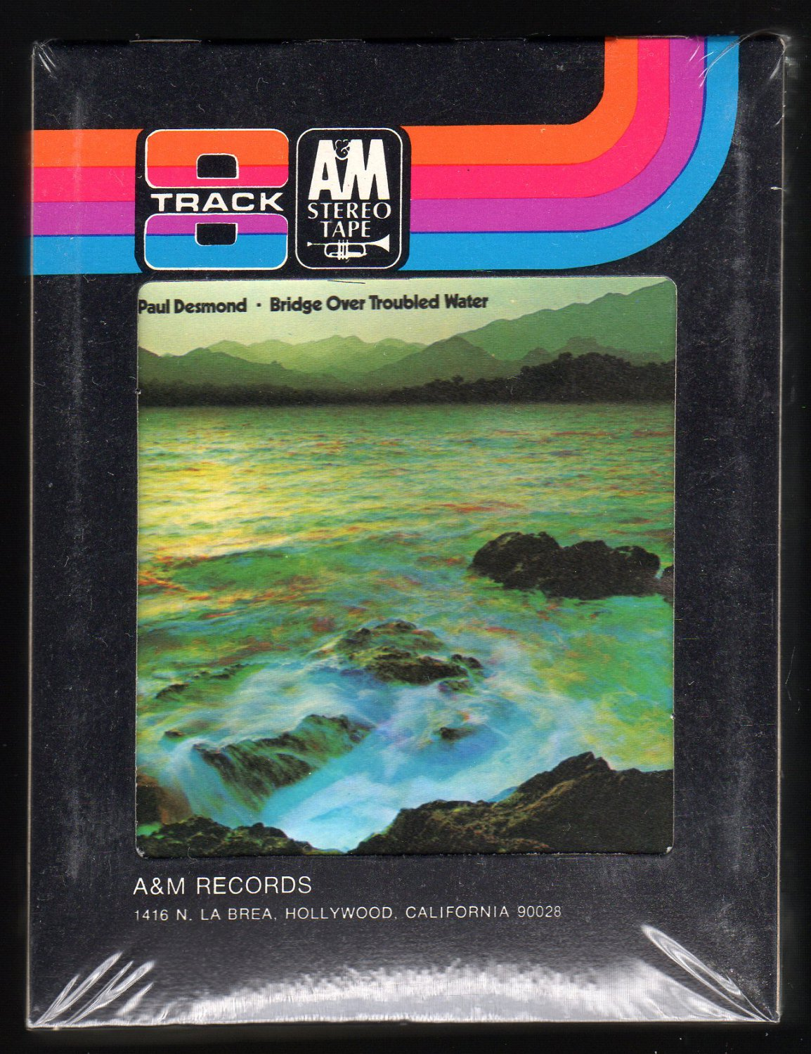 Paul Desmond - Bridge Over Troubled Water 1970 A&M Sealed A23 8-TRACK TAPE