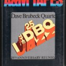 The Dave Brubeck Quartet - 25th Anniversary Reunion 1976 A&M Sealed A23 8-TRACK TAPE