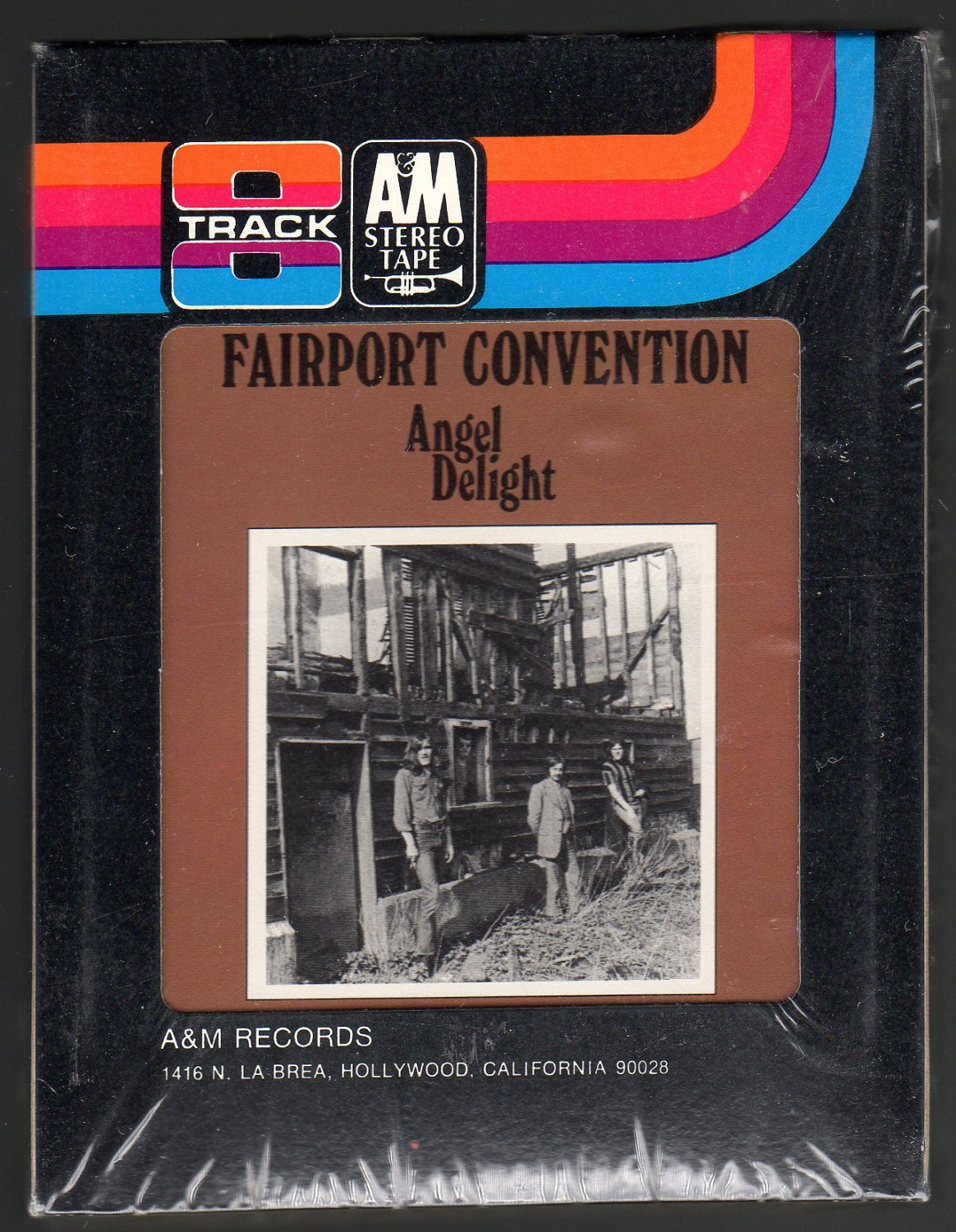 Fairport Convention - Angel Delight 1971 A&M Sealed A23 8-TRACK TAPE