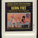 Born Free John Barry - Original Soundtrack Recording 1966 LEAR AMPEX MGM A44 8-TRACK TAPE