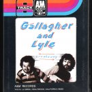 Gallagher and Lyle - Breakaway 1976 A&M Sealed A23 8-TRACK TAPE