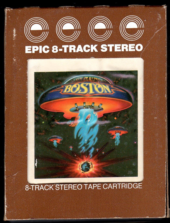 Boston - Boston 1976 Debut EPIC A23 8-TRACK TAPE
