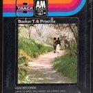 Booker T & Priscilla Coolidge Jones - Booker T & Priscilla Jones 1971 A&M Sealed A23 8-TRACK TAPE