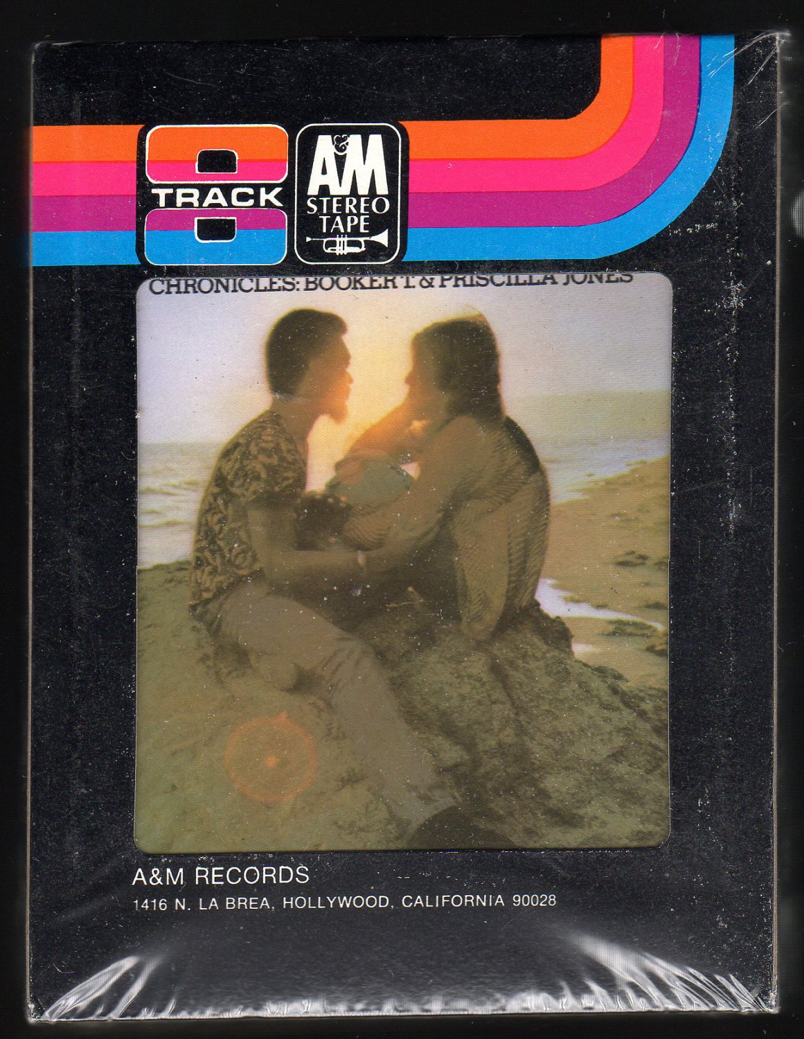 Booker T & Priscilla Coolidge Jones - Chronicles 1973 A&M Sealed A23 8-TRACK TAPE