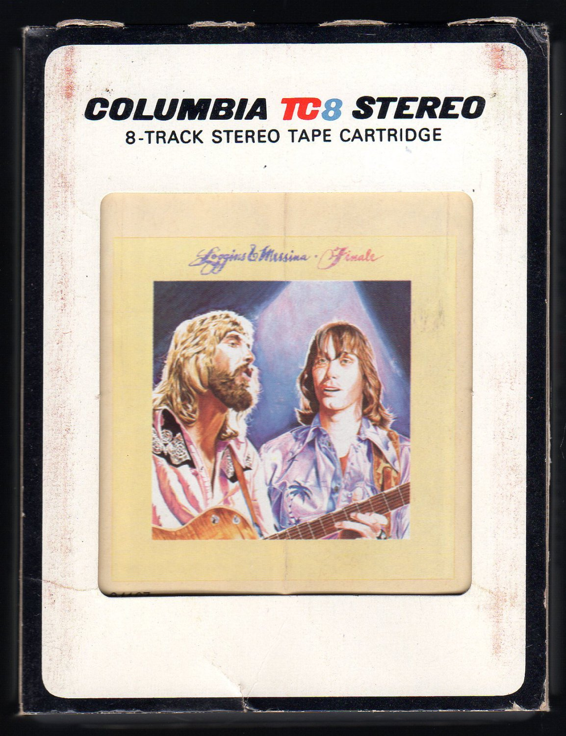 Kenny Loggins And Jim Messina - Finale 1977 CBS A41 8-TRACK TAPE