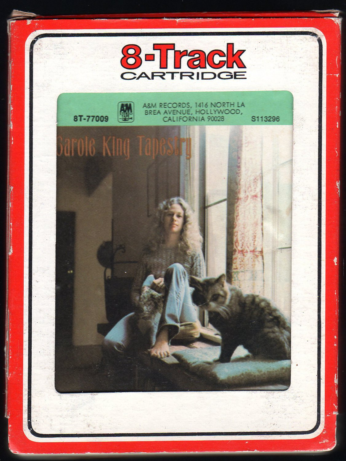 Carole King - Tapestry 1971 RCA A&M A28 8-TRACK TAPE