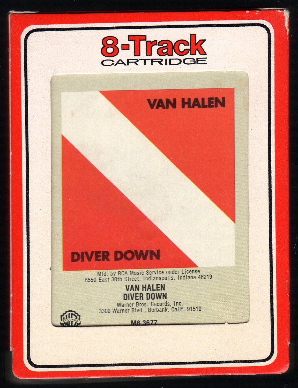Van Halen - Diver Down 1982 RCA WB T8 8-TRACK TAPE