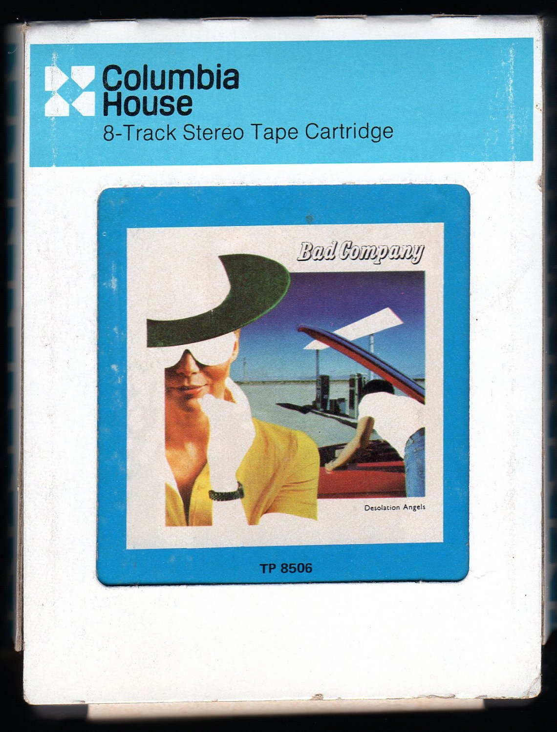 Bad Company - Desolation Angels 1979 CRC SWAN SONG A28 8-TRACK TAPE