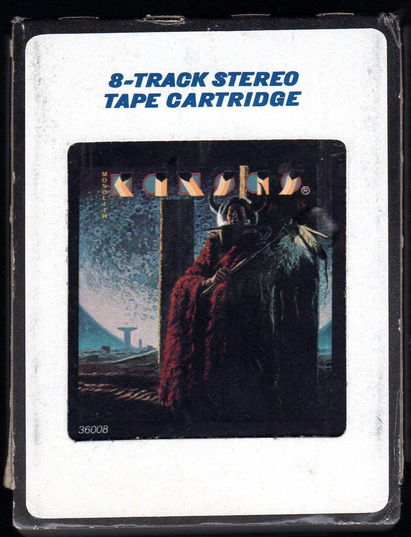 Kansas - Monolith !979 CBS KIRSHNER A28 8-TRACK TAPE