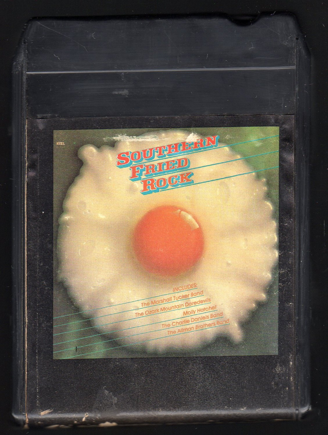 Southern Fried Rock - Various Southern Rock 1980 KTEL A28 8-TRACK TAPE