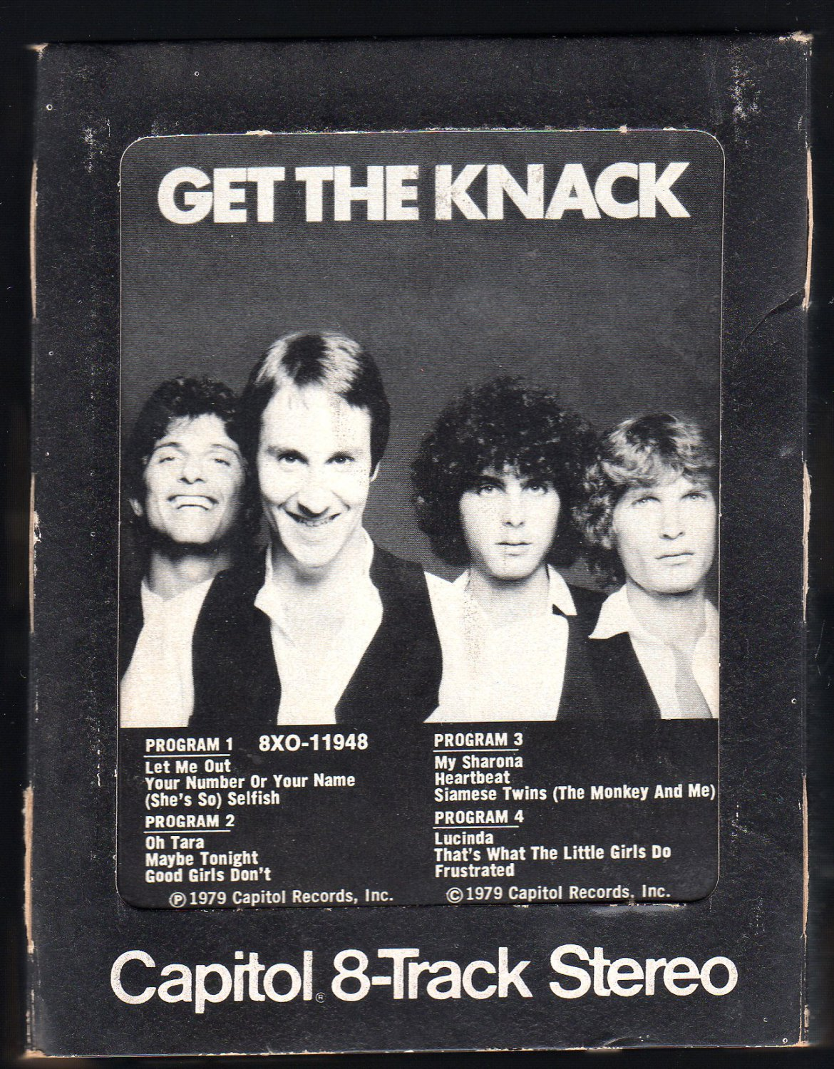 The Knack - Get The Knack 1979 CAPITOL A28 8-TRACK TAPE