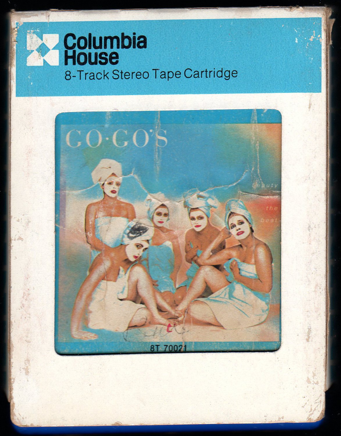 Go Go's - Beauty And The Beat 1981 CRC IRS A28 8-track tape