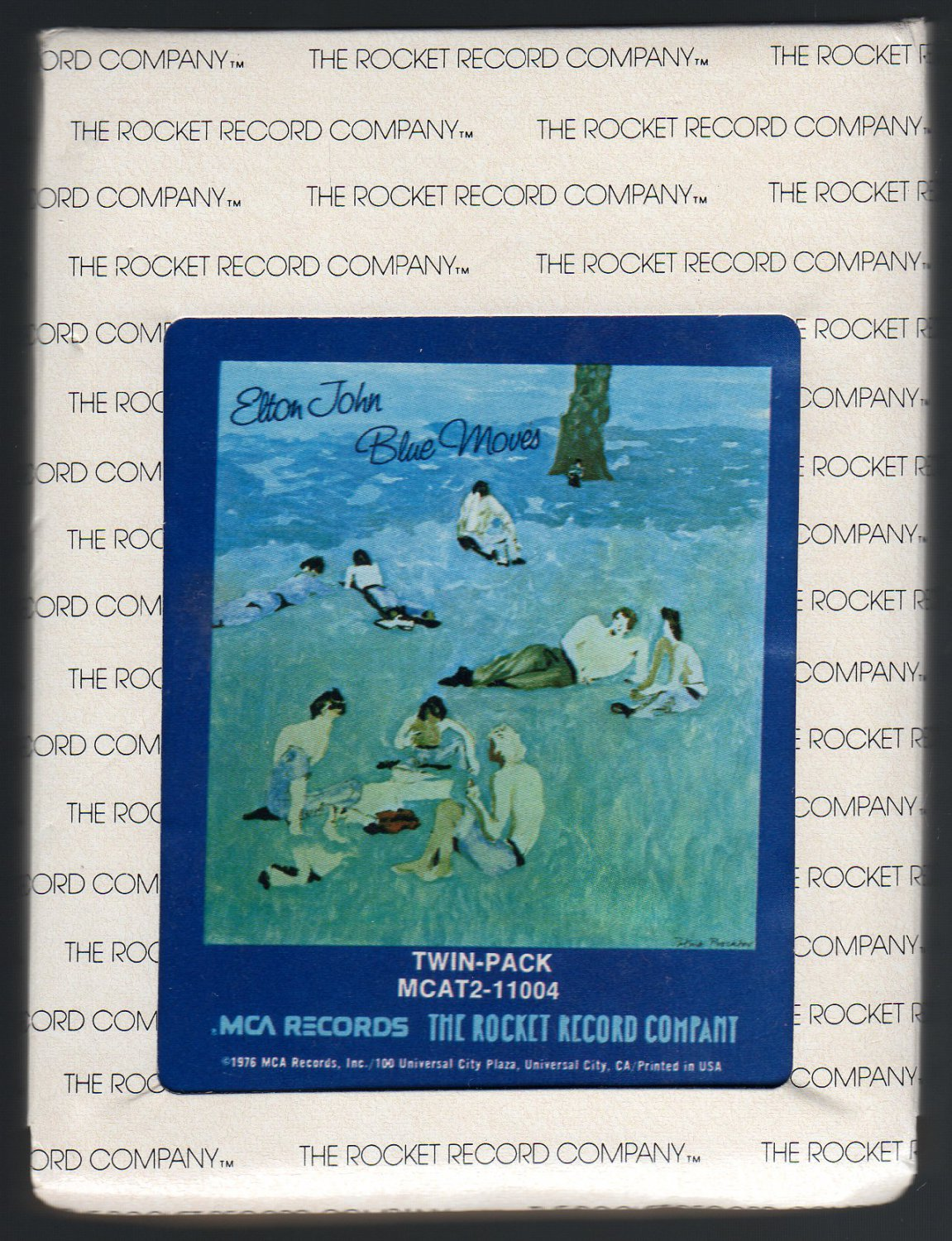 Elton John - Blue Moves 1976 ROCKET MCA A28 8-TRACK TAPE