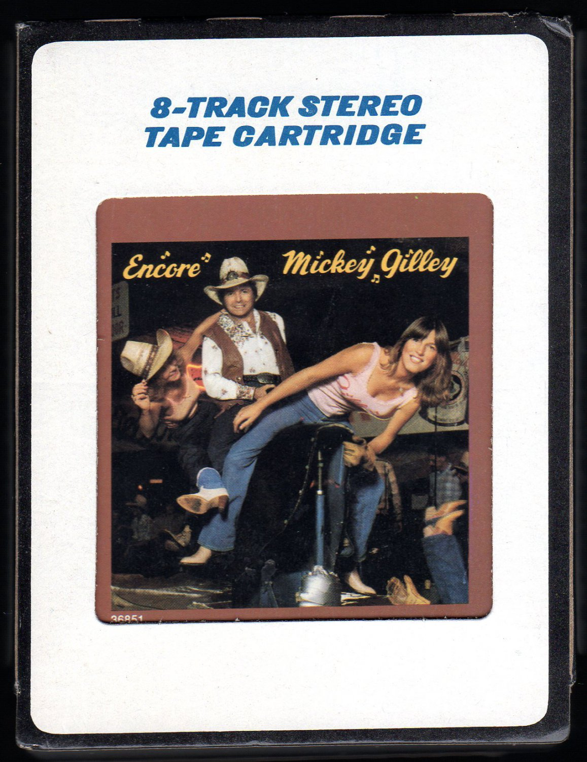 Mickey Gilley - Encore 1980 EPIC CBS A4 8-TRACK TAPE