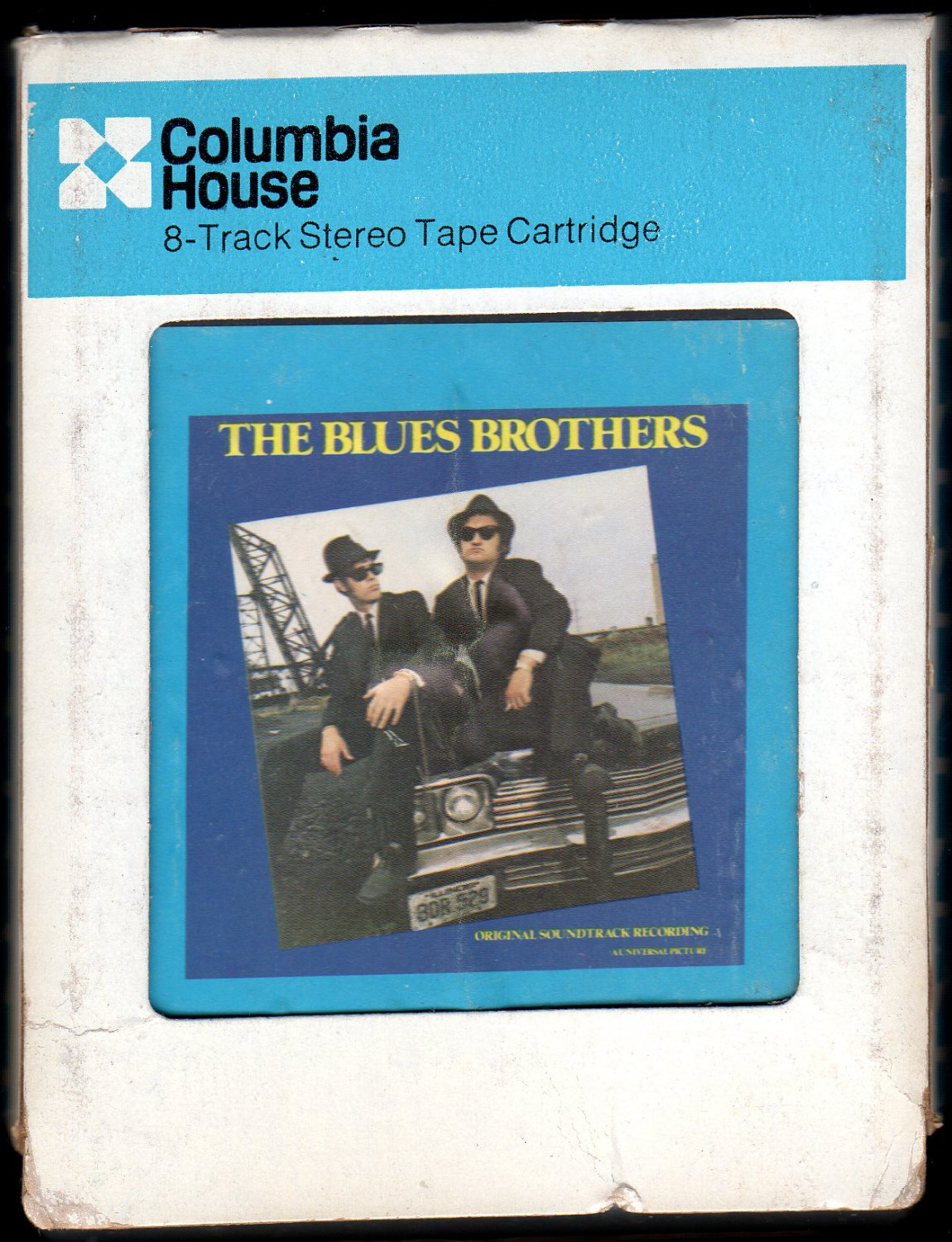 The Blues Brothers - Original Soundtrack Recording 1980 CRC ATLANTIC A4 8-TRACK TAPE