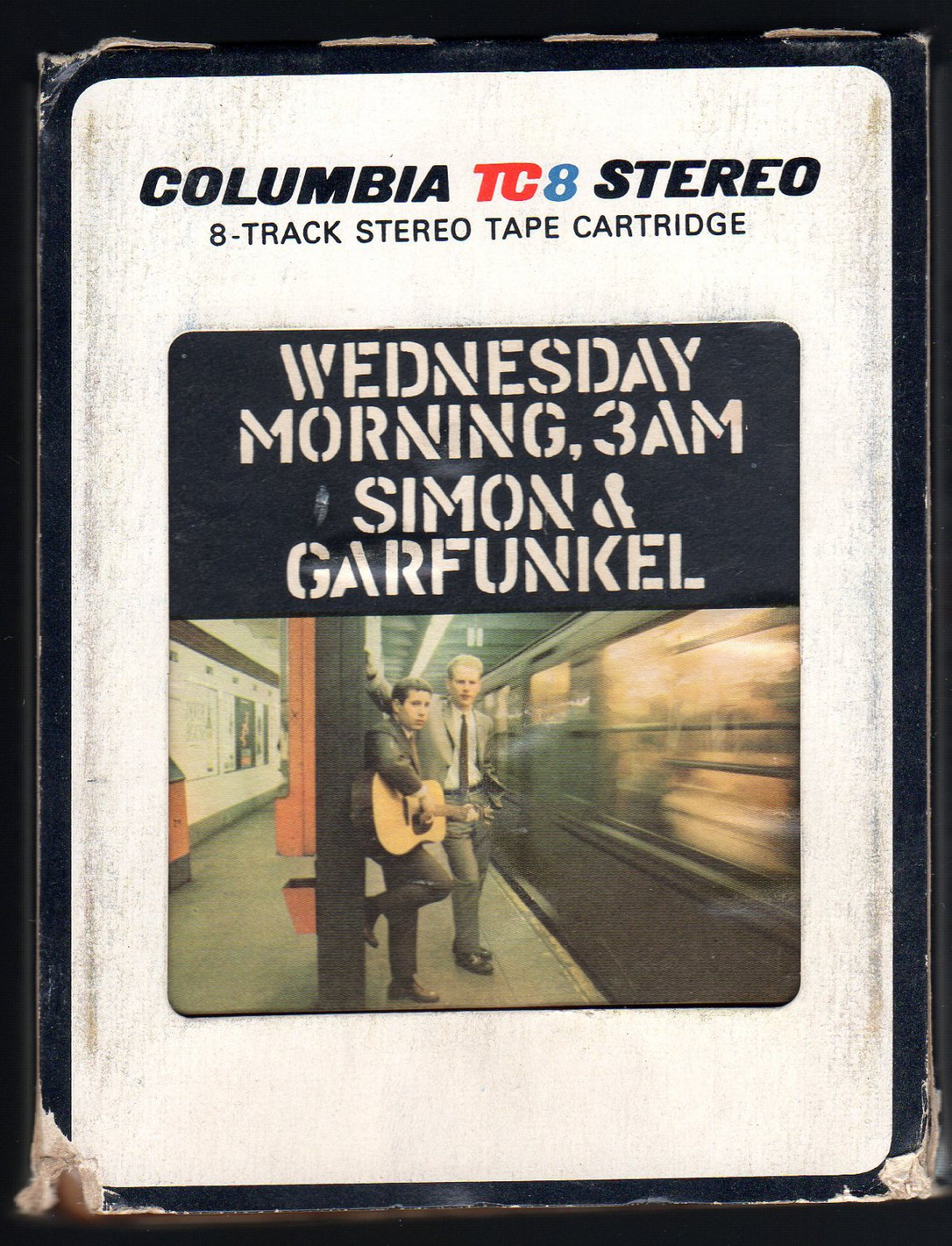 Paul Simon & Art Garfunkel - Wednesday Morning 3 A.M. 1964 Debut CBS Re-issue A22 8-TRACK TAPE