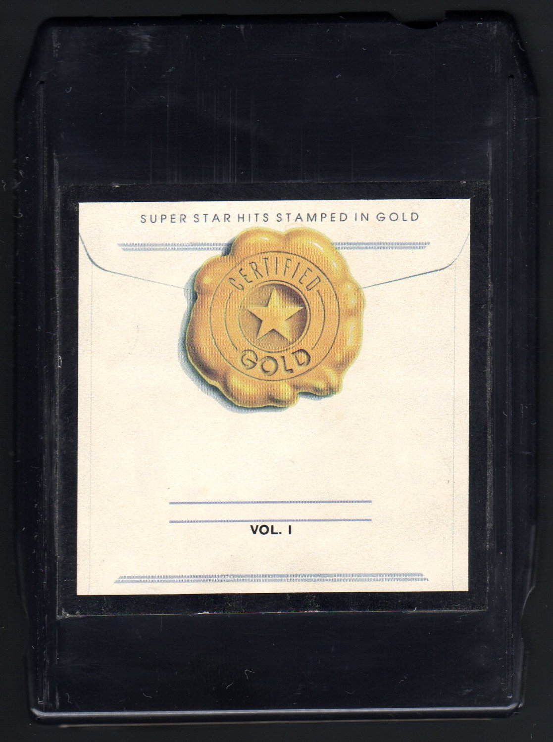 Certified Gold - Various Rock Vol 1 1981 KTEL A22 8-TRACK TAPE