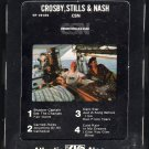 Crosby, Stills & Nash - CSN 1977 ATLANTIC A22 8-TRACK TAPE