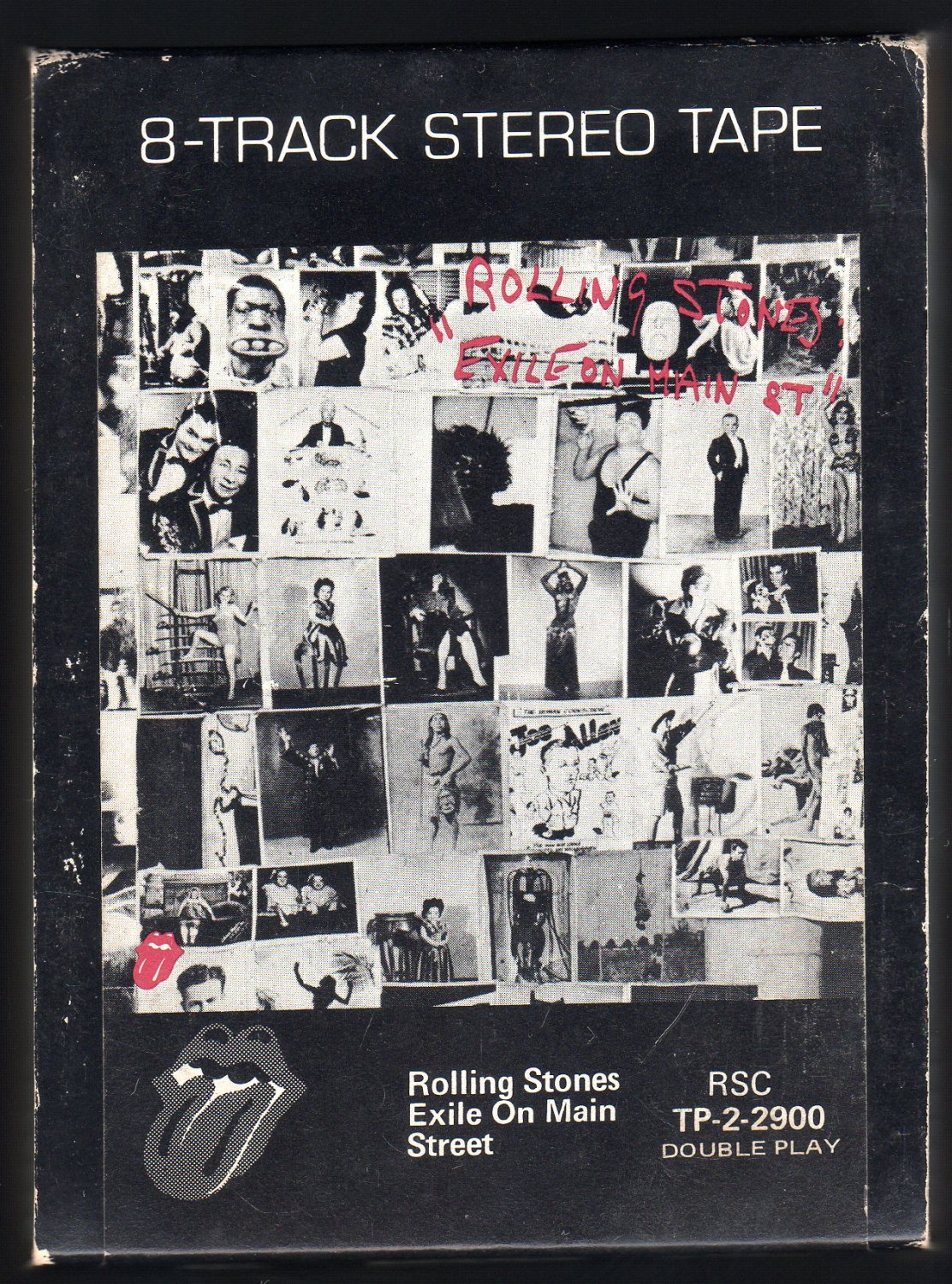 Rolling Stones - Exile On Main Street 1972 ATLANTIC MUSIDOR Double Play A22 8-TRACK TAPE