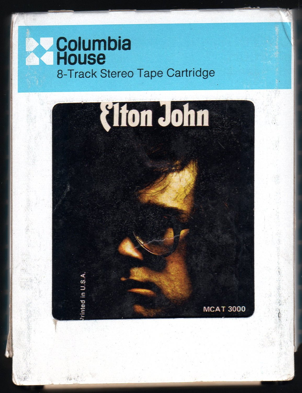 Elton John - Elton John 1970 CRC MCA A4 8-TRACK TAPE