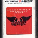 Aerosmith - Aerosmith's Greatest Hits 1980 CBS A11 8-TRACK TAPE