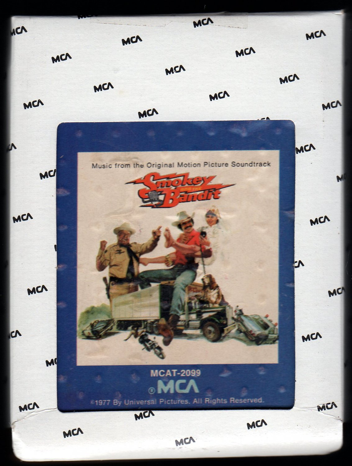 Smokey And The Bandit - Original Motion Picture Soundtrack 1977 MCA AC4 8-TRACK TAPE