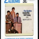 The Beatles - Yesterday And Today + Beatles VI 1966 CAPITOL A18E 8-TRACK TAPE