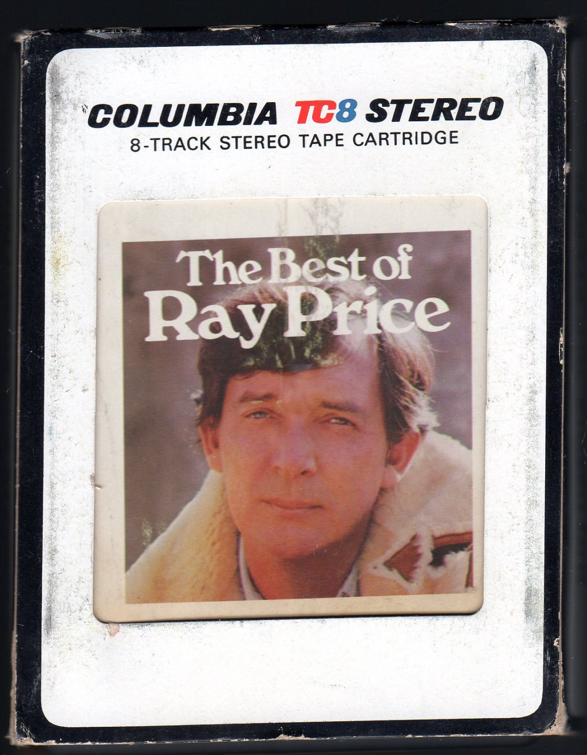 Ray Price - The Best Of Ray Price 1976 CBS T2 8-TRACK TAPE
