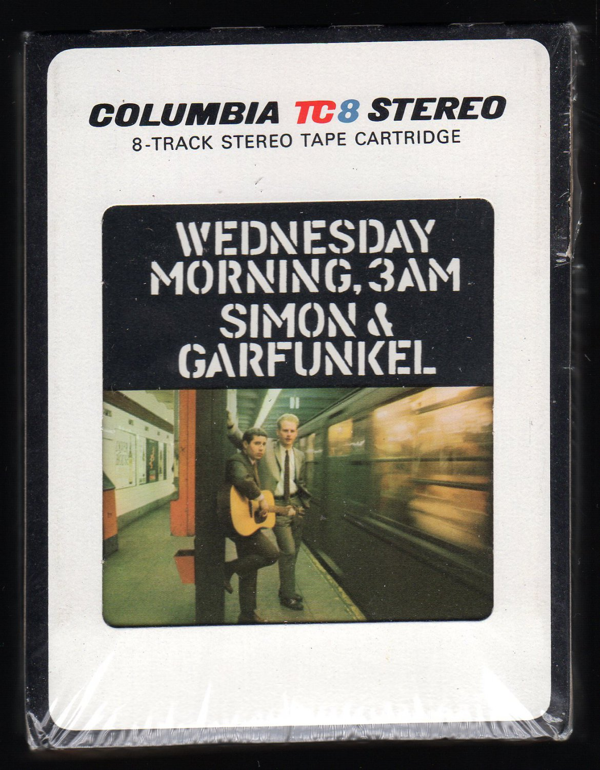 Simon & Garfunkel - Wednesday Morning 3 A.M. 1964 Debut CBS Sealed Re-issue A27 8-TRACK TAPE