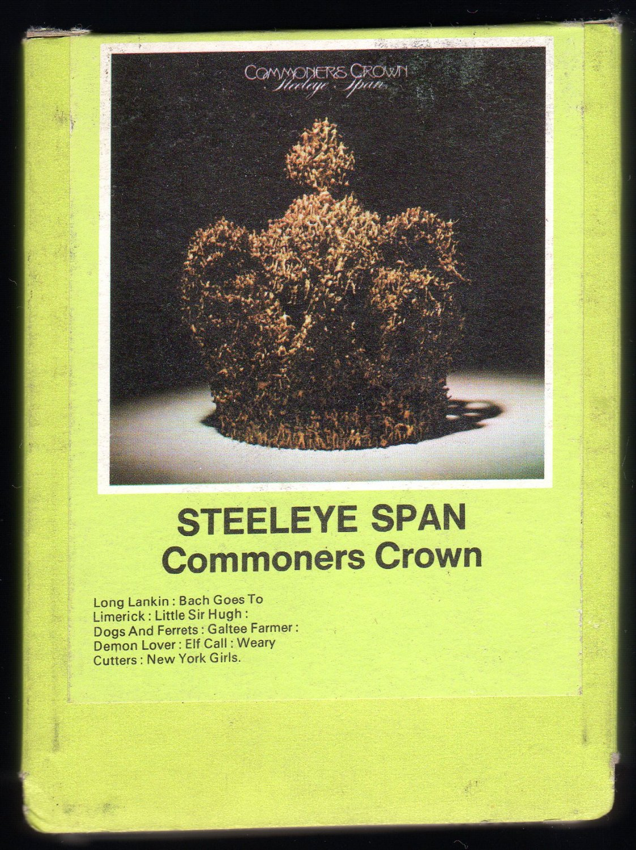 Steeleye Span - Commoner's Crown 1975 CHRYSALIS UK A29B 8-TRACK TAPE