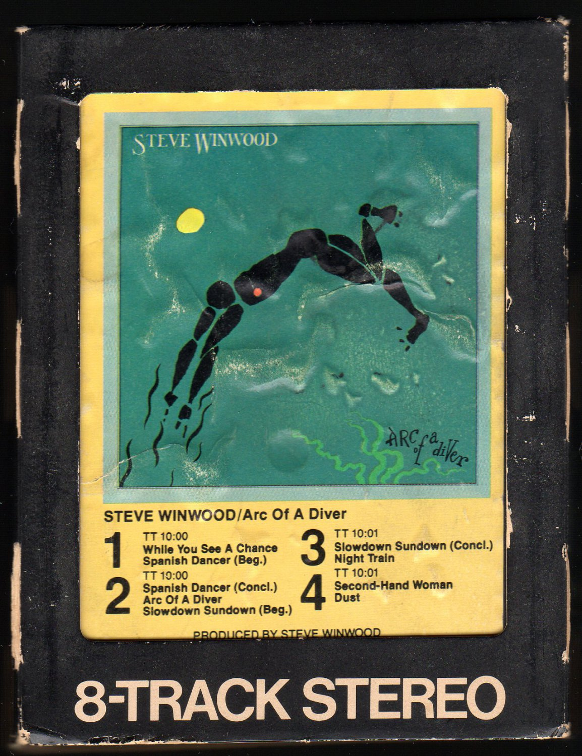 Steve Winwood - Arc Of A Diver 1980 WB A52 8-TRACK TAPE