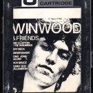 Steve Winwood - Winwood & Friends 1972 AMPEX SPRINGBOARD A39 8-TRACK TAPE