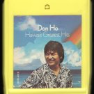Don Ho - Hawaii's Greatest Hits 1970 WB REPRISE A29B 8-TRACK TAPE