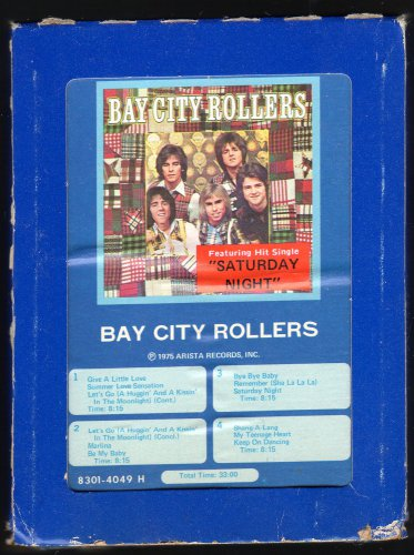 Bay City Rollers - Bay City Rollers 1975 GRT ARISTA C/O A29B 8-TRACK TAPE