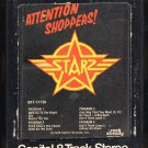 Starz - Attention Shoppers! 1978 CAPITOL A29B 8-TRACK TAPE
