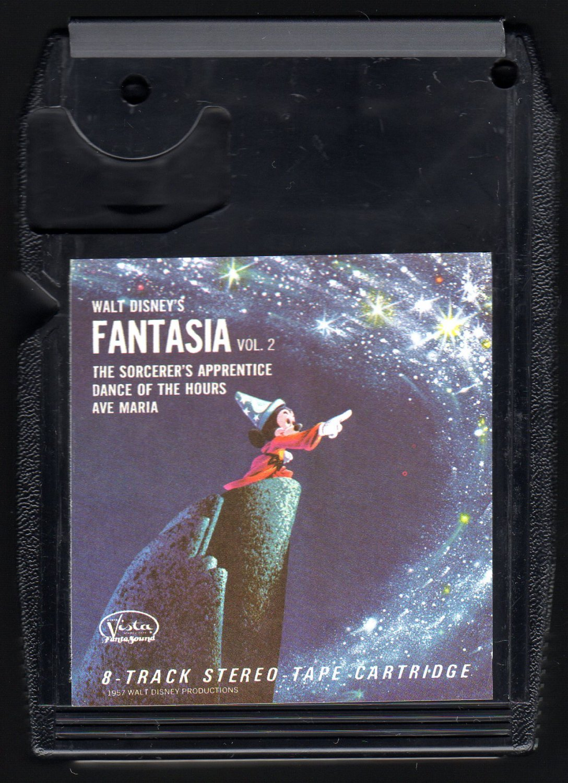 Walt Disney's Fantasia - The Sorcerer's Apprentice Vol 2 1969 VISTA A27 8-TRACK TAPE
