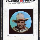 Gene Autry - Gene Autry's Country Music Hall Of Fame 1970 CBS A35Z 8-track tape