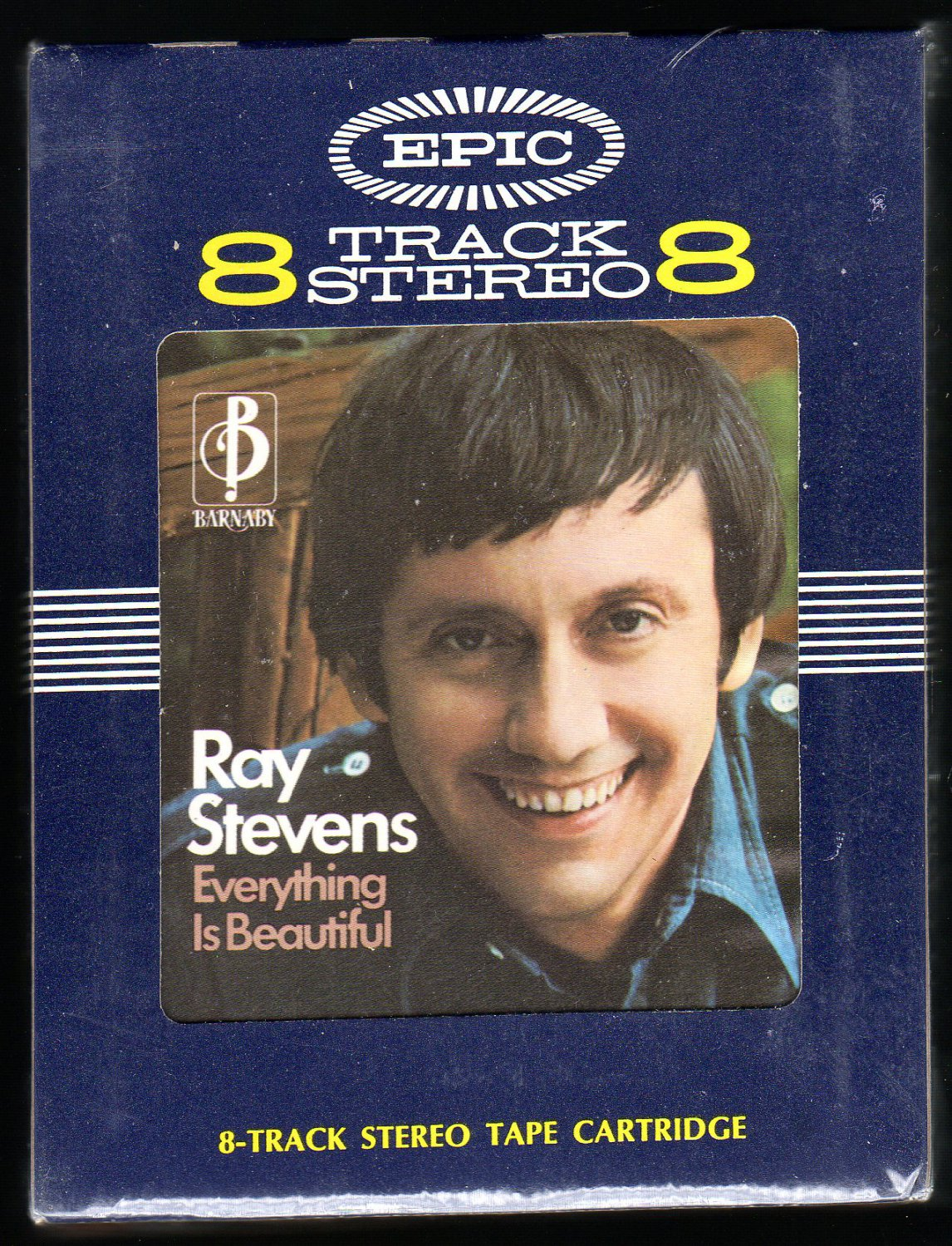 Ray Stevens - Everything Is Beautiful 1971 EPIC BARNABY Sealed A50 8-TRACK TAPE