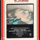 Dwight Yoakam - Guitars, Cadillacs, Etc. 1986 Debut RCA A17B 8-TRACK TAPE
